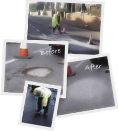 U can pothole repair