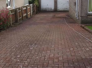 Pressure Washing Cumbria Before