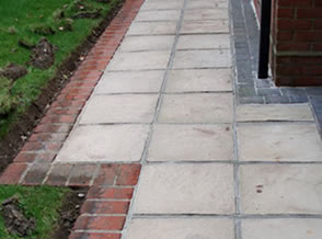 Pressure Washing block paving cumbria Penrith after