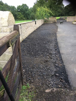 Tarmacadam Extending Driveways before