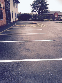 Line Painting roads penrith