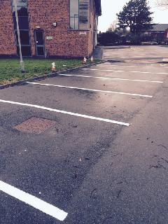 carpark line painting cumbria